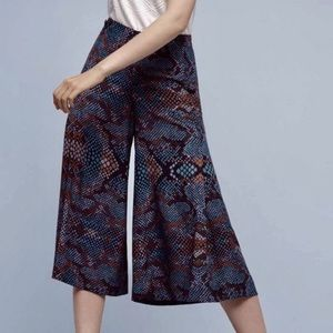 """NWT!! Anthropologie """"The essential culotte""""💙"""